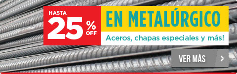25%OFF en Metalúrgico